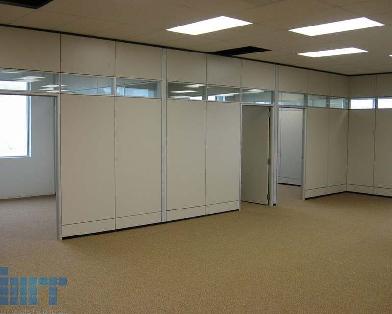 Duo Segmentation Is A Laminate Amp Glass Partition Wall