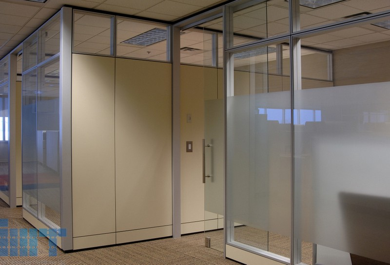 full glass wall vertical