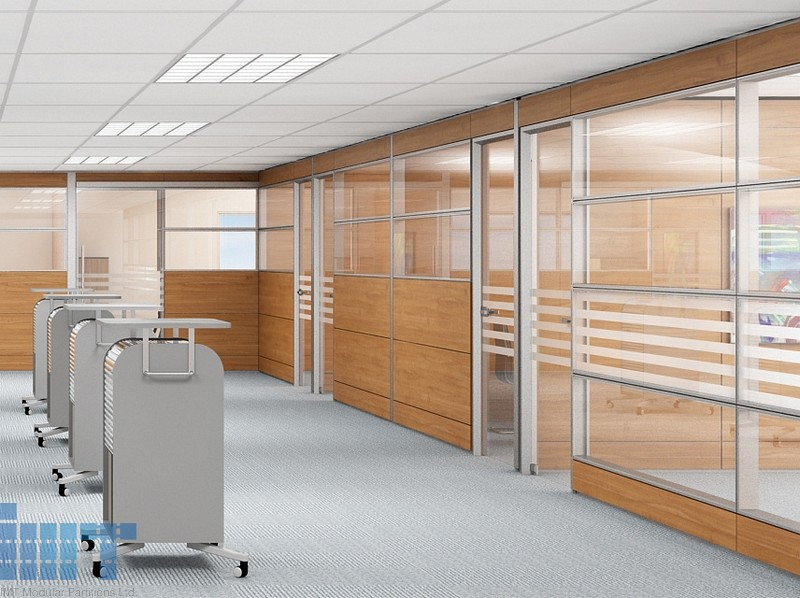 Horizontal Glass Partition Walls Is Part Of Our Glass Partition Offering