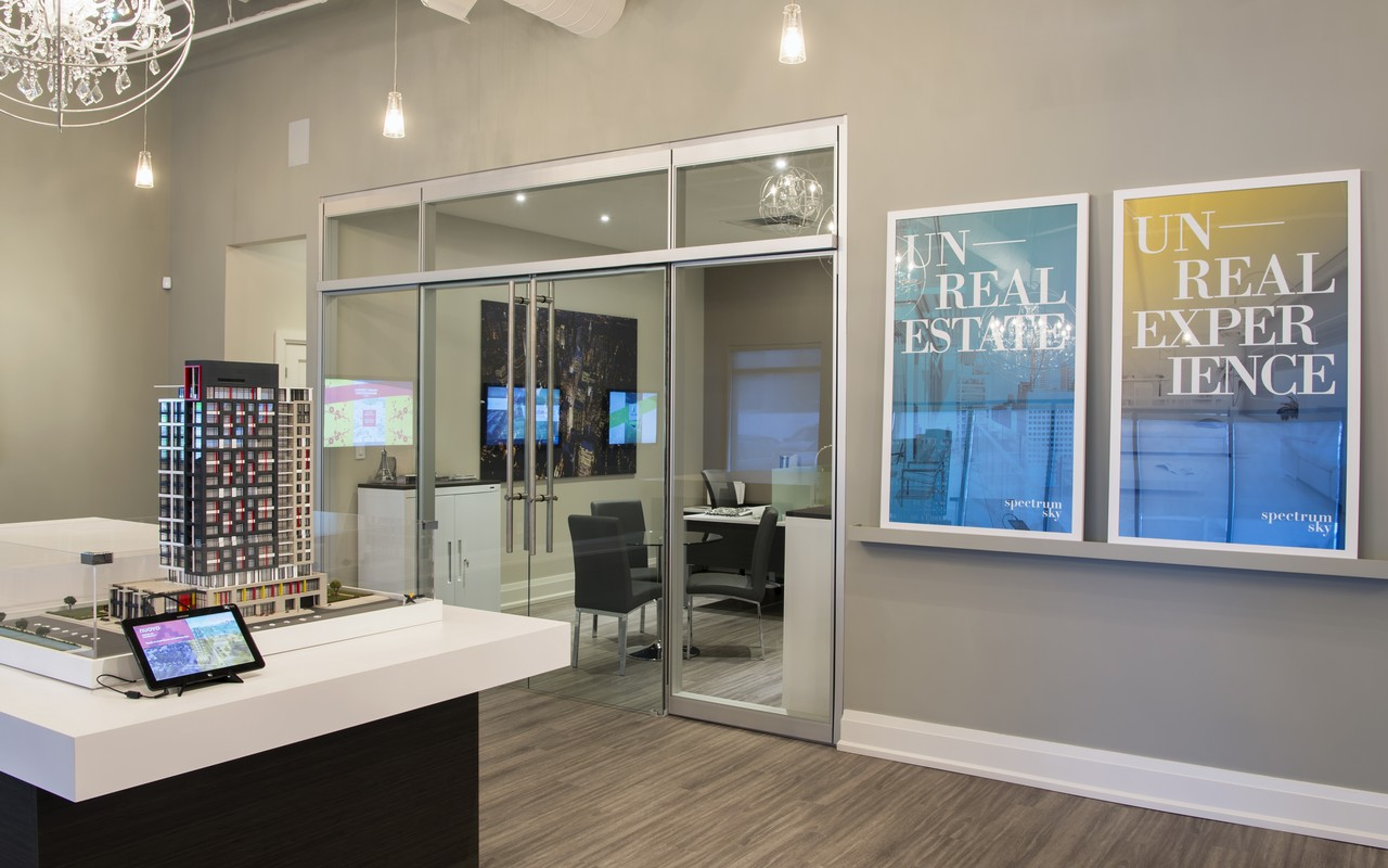 Spectrum Sky Realty Movable Walls Glass Partitions