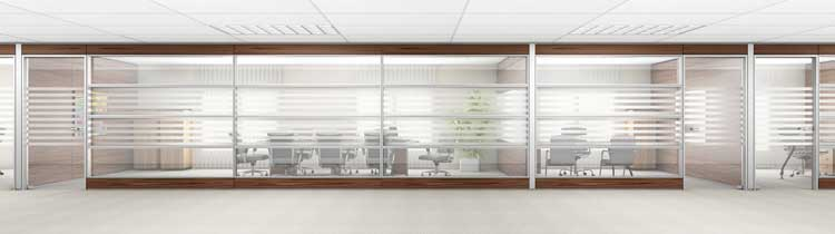 How Glass Office Partitions Glass Walls Help Business Productivity