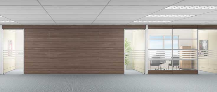 Demountable Walls Benefits For Modular Office Systems By
