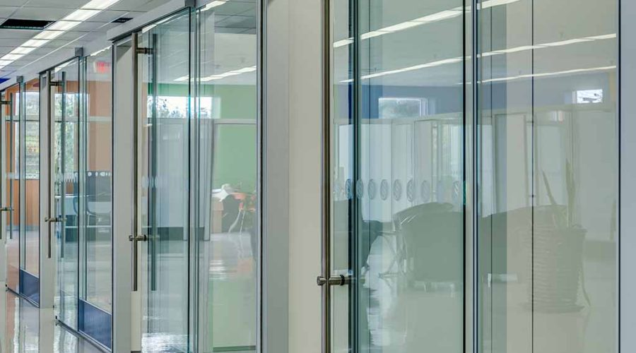 Glass Partitions walls
