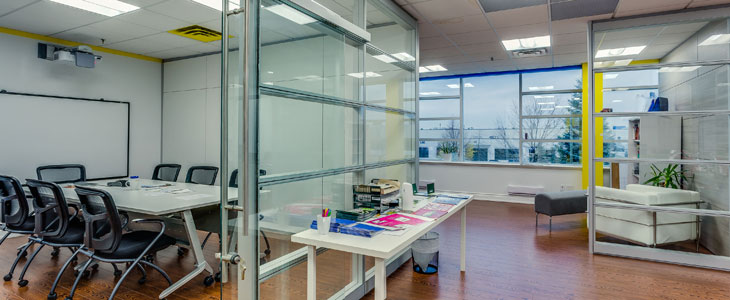 office partitions from IMT Modular Walls